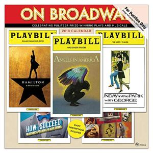 On Broadway 2019 Calendar
