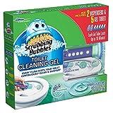 Scrubbing Bubbles Toilet Gel, Rainshower (2 dispensers + 30 Gel Discs)
