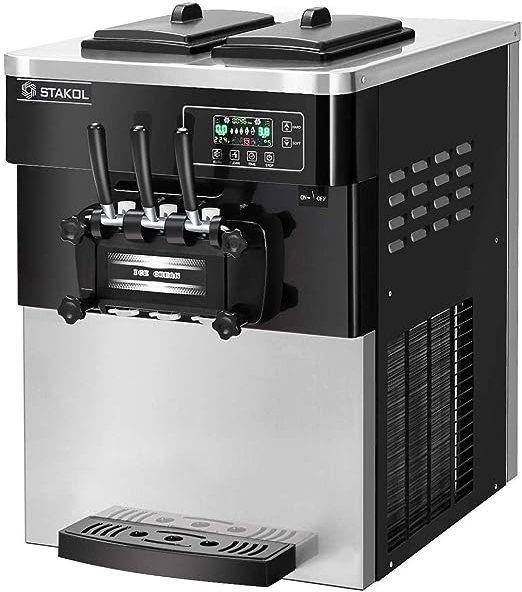 ماكينة صنع الايس كريم للمحلات COSTWAY Commercial Ice Cream Machine 2200W