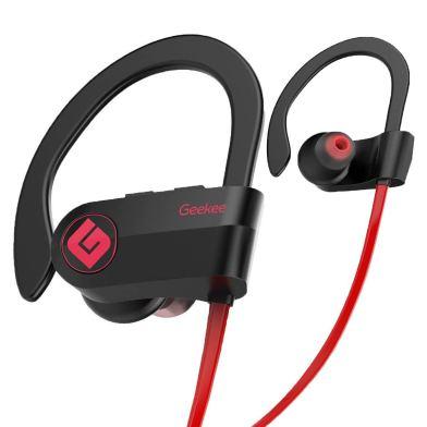 geekee Wireless Bluetooth Headphones Waterproof IPX7 review