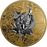 2017 CA Dc Comics Originals SUPERMAN BRAVE AND THE BOLD 3 Oz Silver Coin 50$ Canada 2017 Proof
