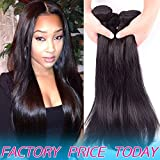 8A Unprocessed Brazilian Virgin Human Hair Weft 4 Bundles Deals Best Silky Straight Aliexpress Peruvian Remy Hair Weave Products Cheap Malaysian Indian Natural Black Hair Extensions 20 20 22 22 inch