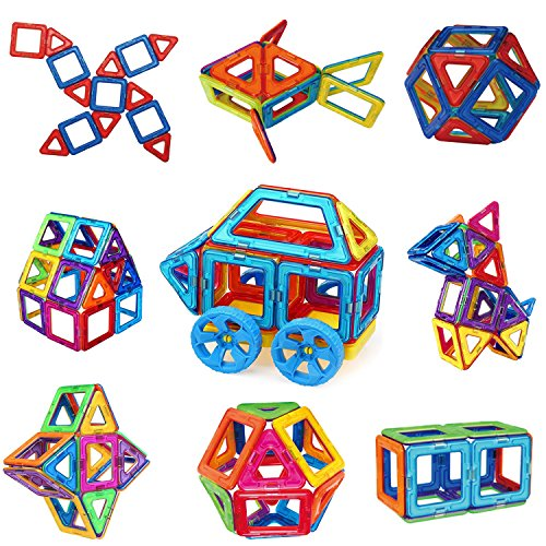 Magnetic Toys For Boys : Magnetic building blocks sunwing pcs magnets toy set