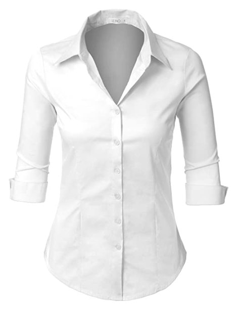 5 things you shouldn t wear to an interview society19 for Womens white button down shirt