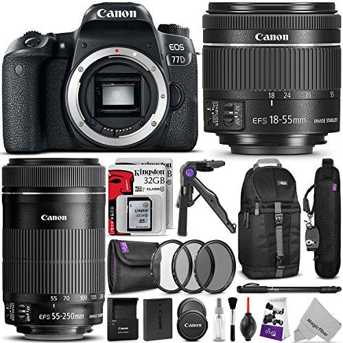 Canon EOS 77D Bundle 4
