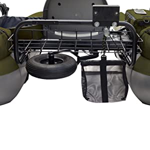 Classic Accessories Colorado XT Inflatable Pontoon Boat closeup