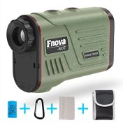 Laser Rangefinder, Fnova Digital Hunting Range Finder Ranging 5-600 Yards, +/- 1 Yard Accuracy, 6X Magnification Lens with Distance and Speed Measurement for Racing, Archery, Engineering Survey