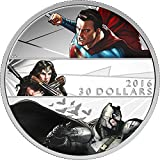 2016 CA Batman V Superman Dawn Of Justic PowerCoin E 2 Oz Silver Coin 30$ Canada 2016 62.67 Gr Proof