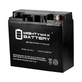 Mighty Max Battery ML18-12 - 12V 18AH CB19-12