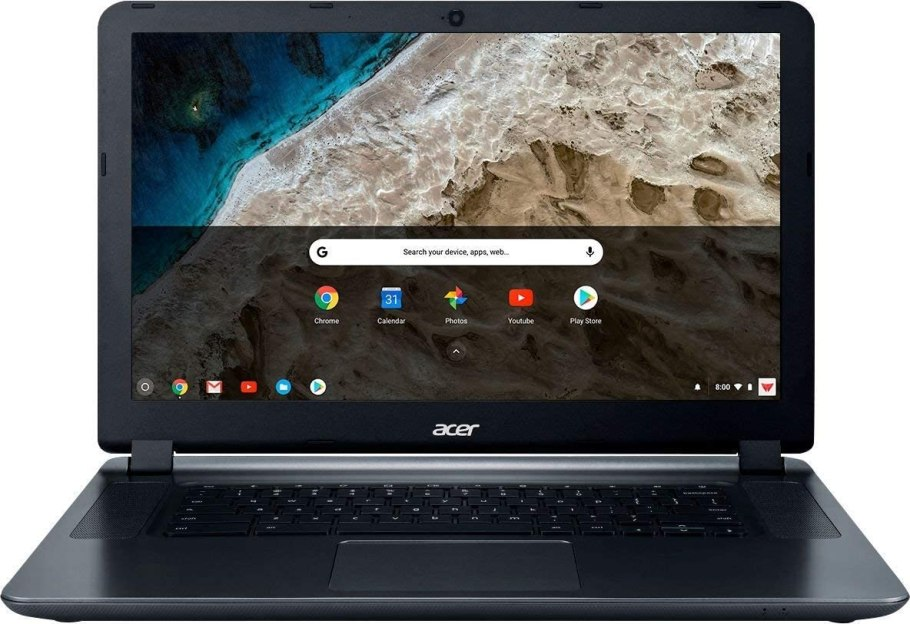 "2018 Acer 15.6"" HD WLED Chromebook 15 with 3X Faster WiFi Laptop Computer, Intel Celeron Core N3060 up to 2.48GHz, 4GB RAM, 16GB eMMC, 802.11ac WiFi, Bluetooth 4.2, USB 3.0, HDMI, Chrome OS"