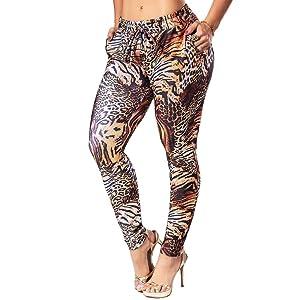 Calça Jogger Animal Print Pit Bull Jeans 30180 Pitbull Original