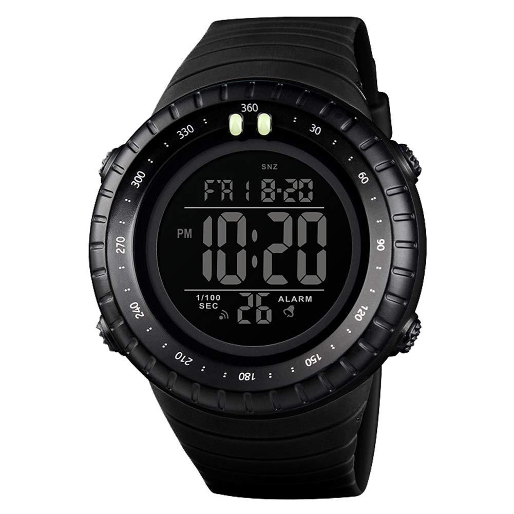 Reloj digital multifuncional color negrohttps://amzn.to/2UA8eAu