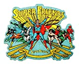 DC Comics Superhero Superfriends Unite Justice League Superman Iron On Applique Patch