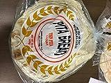 Baklava Bakery, Bread Pita Thin Large, 15 Ounce