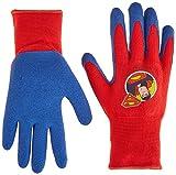 MidWest Quality Gloves SFS100T-T-AZ-6 DC Comics Super Friends Super Man Gripper Glove, Toddler, Multicolor