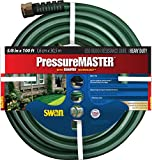 Swan Products SN7958100 PressureMASTER Heavy Duty Kink Resistant Garden Hose 100' x 5/8', Green