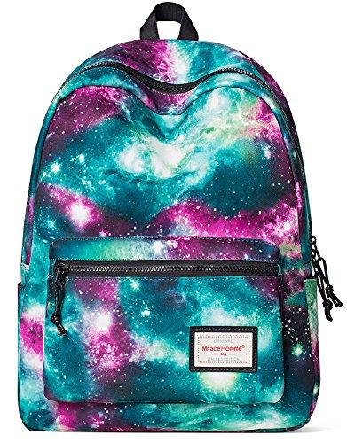 Forestfish Women Backpack School Bookbags Travel Daypack Laptop Bag