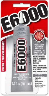 best glue for glass to fabric - E6000