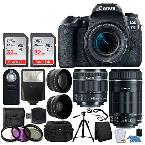 Canon EOS 77D Bundle 6