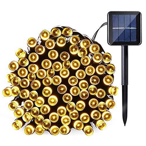 Joomer-Solar-Christmas-Lights-39ft-100-LED-8-Modes-Solar-String-Lights-Waterproof-Solar-Fairy-Lights-for-Garden-Patio-Fence-Balcony-Outdoors-Warm-White