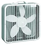 Comfort Zone CZ200A 20' 3-Speed Box Fan for Full-Force Air Circulation with Air Conditioner