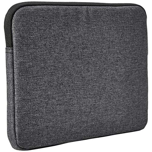 AmazonBasics iPad Tablet Sleeve Case with Front Pocket, 10 Inch, Grey 3