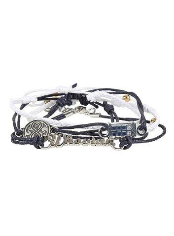 Doctor Who Arm Party Bracelet Set