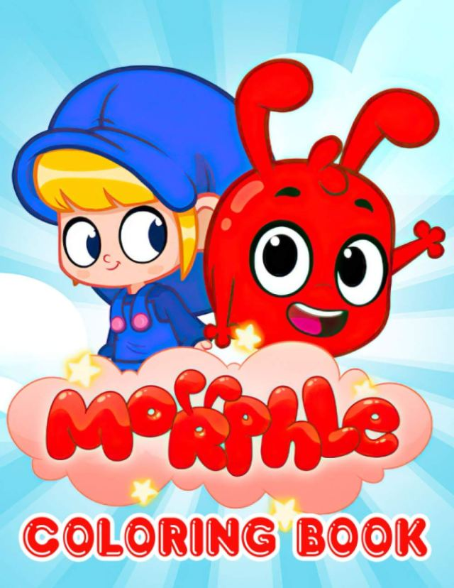 Morphle Coloring Book: An Awesome Item To Relax And Refresh With