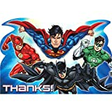 "Justice League ""Thank You"" Postcards, Party Favor"