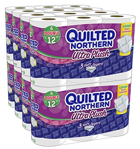 Quilted Northern Ultra Plush Bath Tissue, 48 Double Rolls...