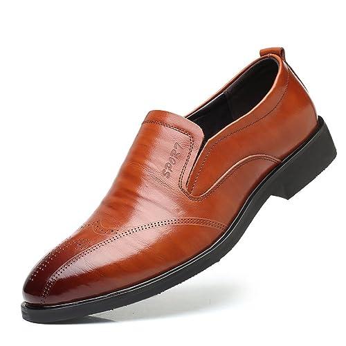 Aardimi Herrenschuhe Herren Uniform Elegant Businessschuhe Lederschuhe Hochzeit Schuhe Mann Kleid Leder Schuhe Formale Zapatos