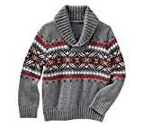 Product review for OshKosh B'Gosh Baby Boys' Fair Isle Pullover Sweater