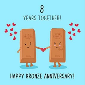 Image result for happy 8th year anniversary
