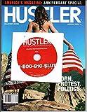Hustler Anniversary 2016 with H1704 810-Slut Bonus DVD; MALENA MORGAN ZAHRA STARDUST BRETT ROSSI & SAMANTHA SAINT MARIA ROSE (COVER MODEL ONLY)