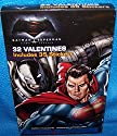 Valentines Day Cards (Box of 32) Batman Vs Superman Dawn Of Justice w/ Stickers ;#G344T3486G 34BG82G459618