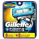 Gillette Fusion ProShield Chill Men's Razor Blade Refills, 8 Refills, Mens Razors / Blades