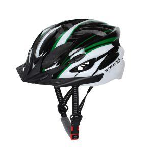 Strauss Cycling Helmet White Green Black