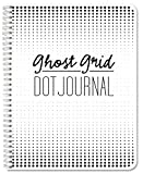 BookFactory Ghost Grid Dot Journal/Large Bullet Notebook 120 Pages 8.5' x 11' Wire-O (JOU-120-7CW-A(DotJournalNG))