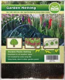 Bird Netting [Heavy Duty] Protect Plants and Fruit Trees - Extra Strong Garden Net is Easy to Use, Doesn't Tangle and Reusable - Lasting Protection Against Birds, Deer and Other Pests (7.5x65 Foot)