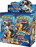 Pokemon TCG: XY Evolutions, A Booster Pack Containing 10 Cards Per Pack with Over 100 New Cards to Collect