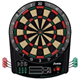 Franklin Sports FS6000 Electronic Dartboard - Digital Dartboard - Soft-Tip Dartboard - Ready-to-Play Electronic Dartboard for Kids and Adults of All Ages - Tournament-Size 15.5'