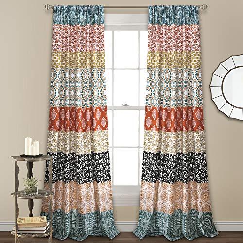 Bohemian Striped Curtains