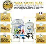 iSpring RCC7 High Capacity Under Sink 5-Stage Reverse Osmosis Drinking Filtration System and Ultimate Water Softener-WQA Gold Seal Certified, White