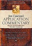 1: Jon Courson's Application Commentary: Old Testament Genesis-Job