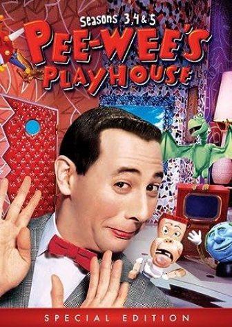 PEE-WEE'S PLAYHOUSE: SEASONS 3 4 & 5: Amazon.co.uk: DVD & Blu-ray