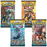 Pokemon TCG: Sun & Moon Booster Pack Collection Moon (4 Pack)