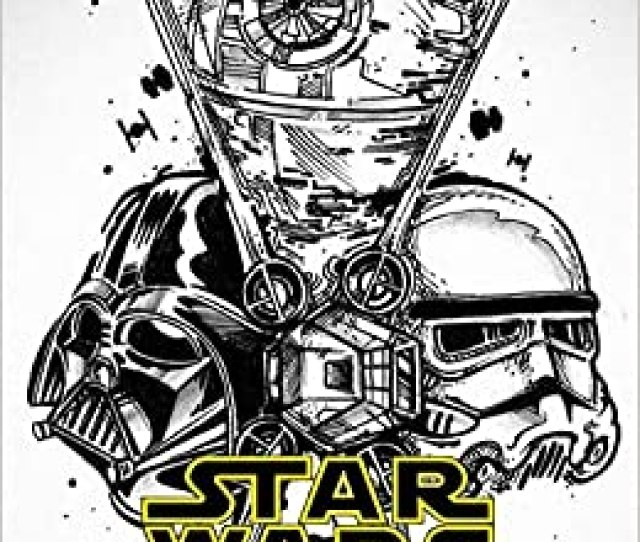Star Wars Coloring Book Color All Characters In Star Wars With