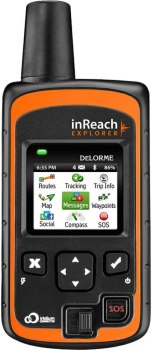 DeLorme AG-008727-201 InReach Explorer Two Way Satellite Communicator with Built in Navigation