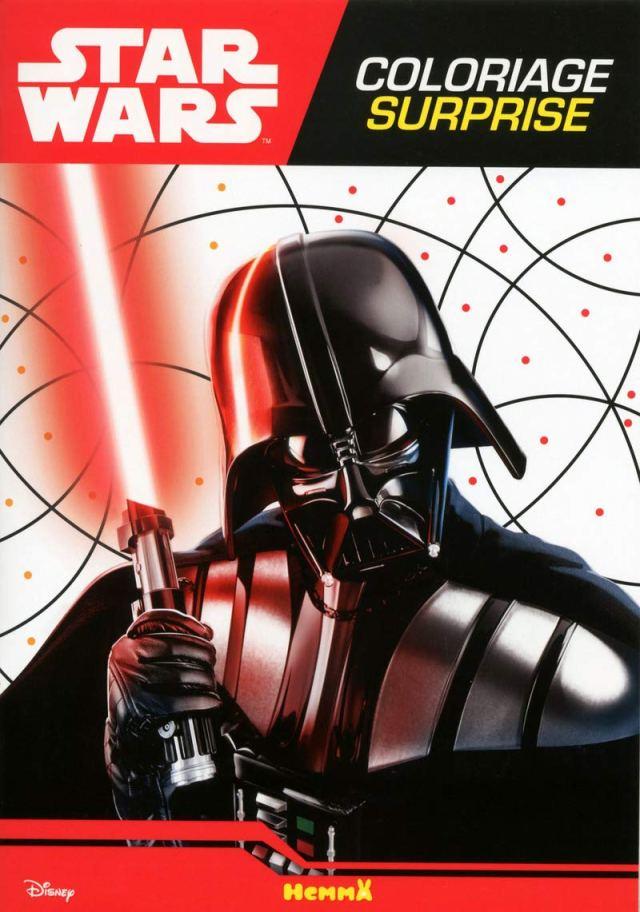 Disney Star Wars Coloriage surprise (Dark Vador) (French Edition