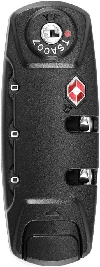 OurLeeme - Candado de combinación para maleta de viaje, cerradura de combinación